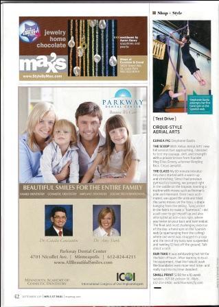 Image of Minneapolis-St. Paul Magazine feature