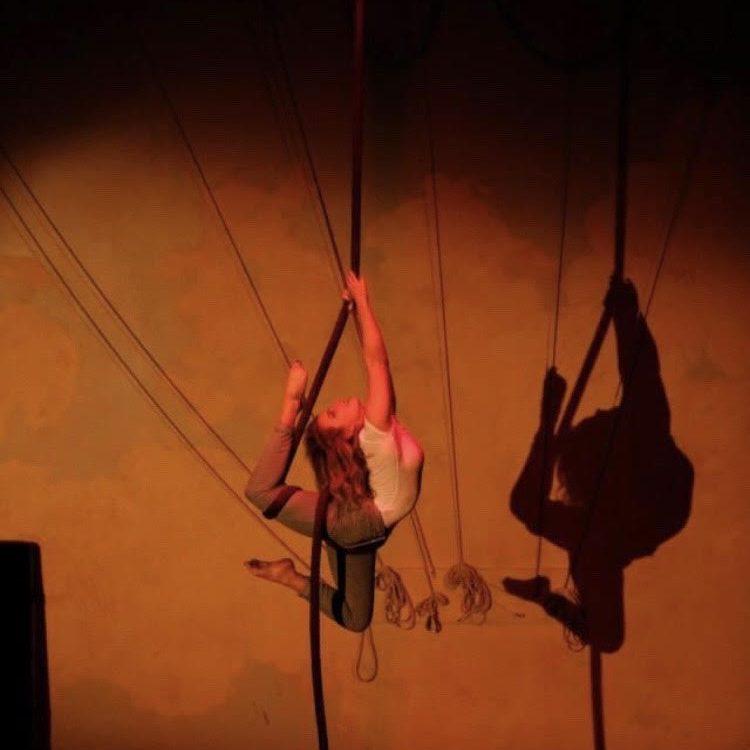 Brigid on Rope in 2013