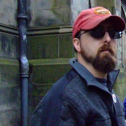 Mark in Edinborough for Fringe Festival