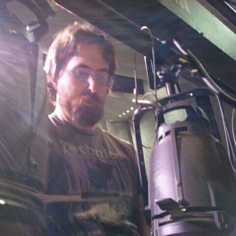 Mark at work
